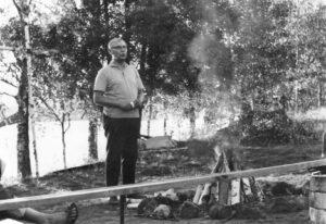 Kiponniemen idean isä Erkki Verkkonen.