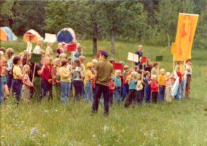 Lastenleirit olivat suosittuja alusta lähtien.